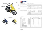 suzuki thailand all models 2007 2016