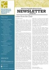 16 10 hgrg newsletter autumn 2016
