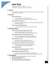 resume 1