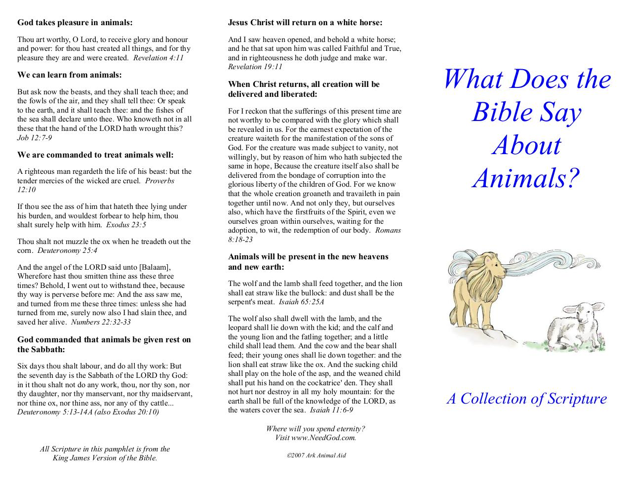 What Does the Bible Say About Animals.pdf - page 2/2