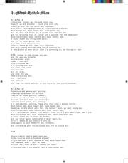 q curius letter lyric sheet