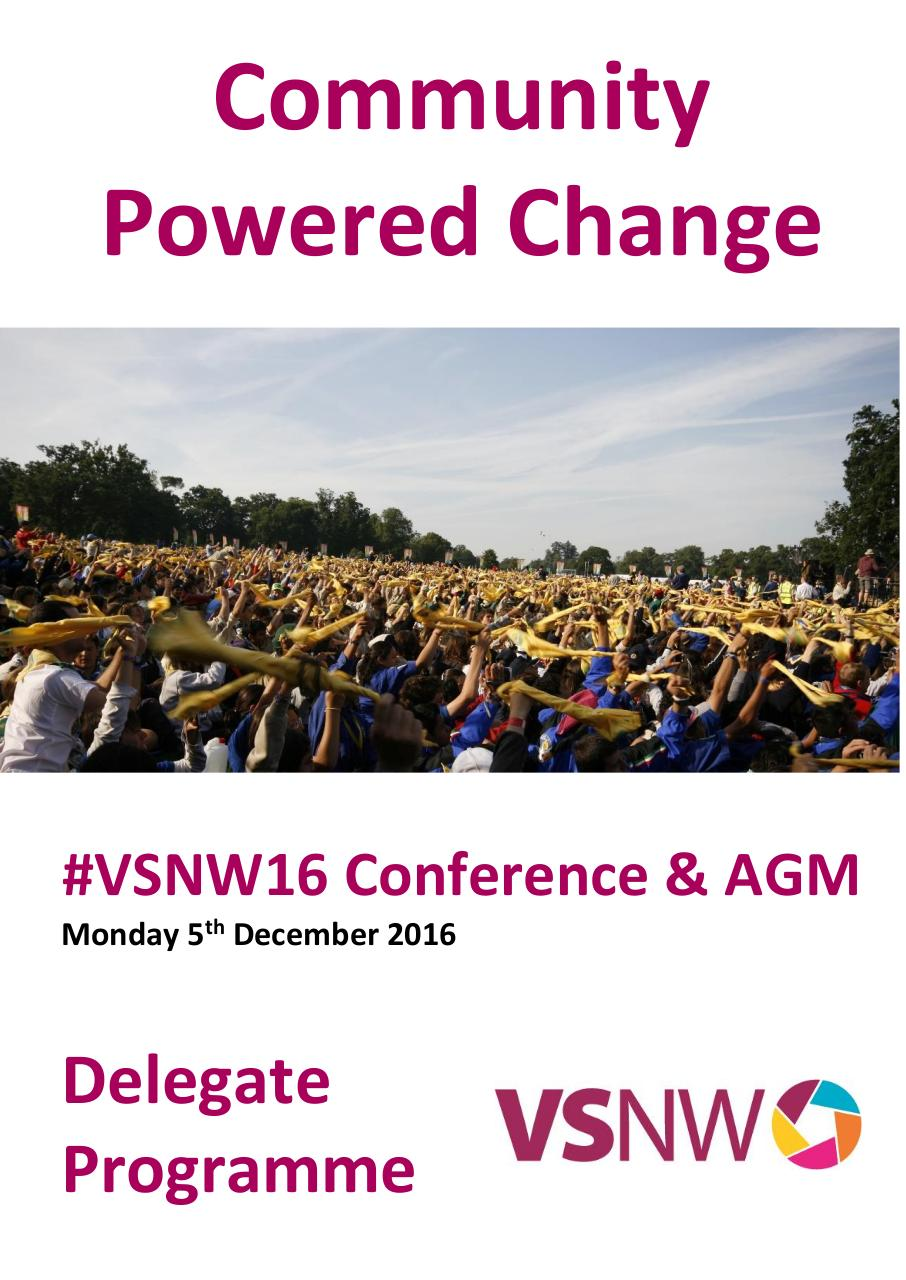 VSNW16 Community Powered Change Delegate Programme.pdf - page 1/16