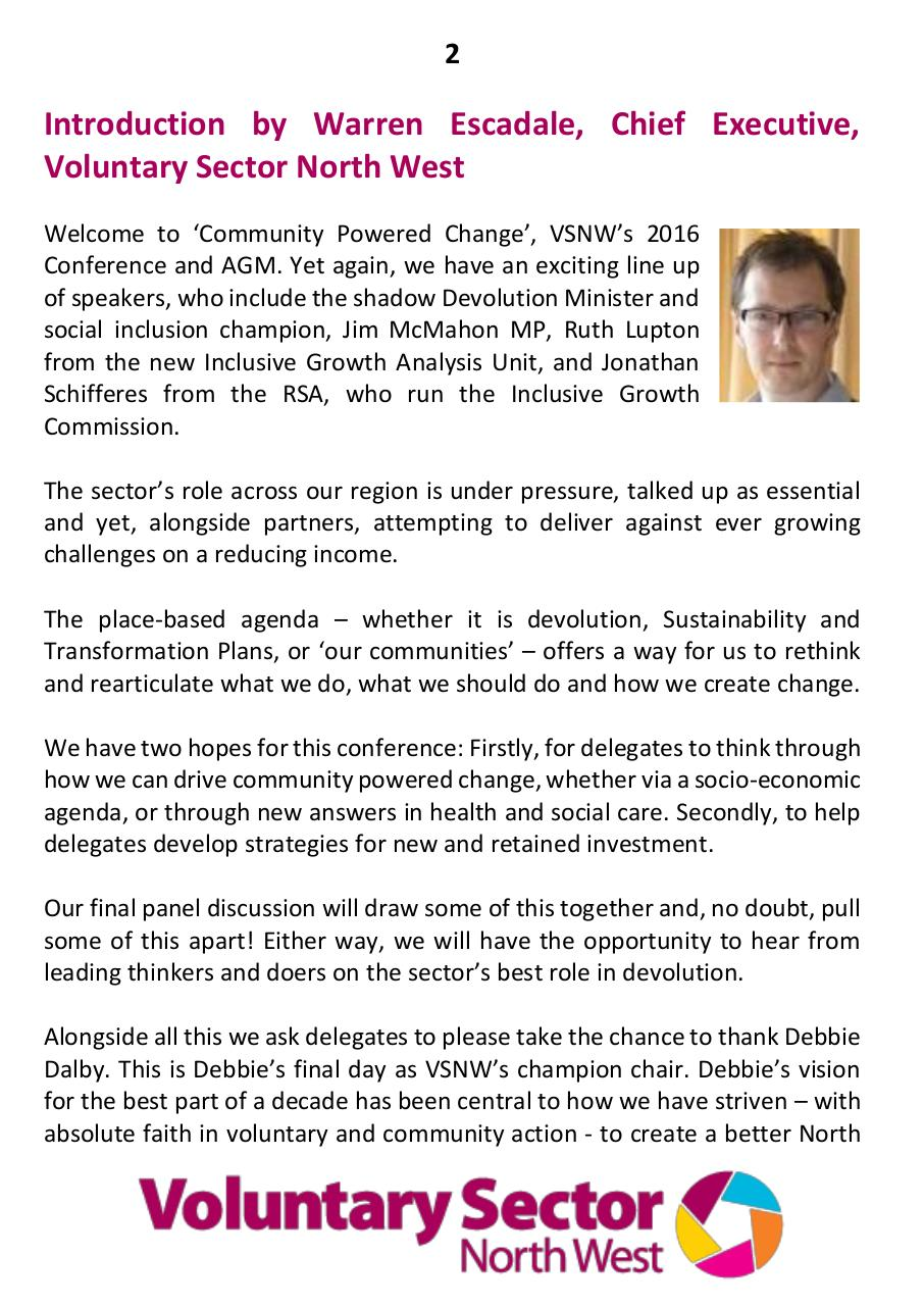 VSNW16 Community Powered Change Delegate Programme.pdf - page 2/16