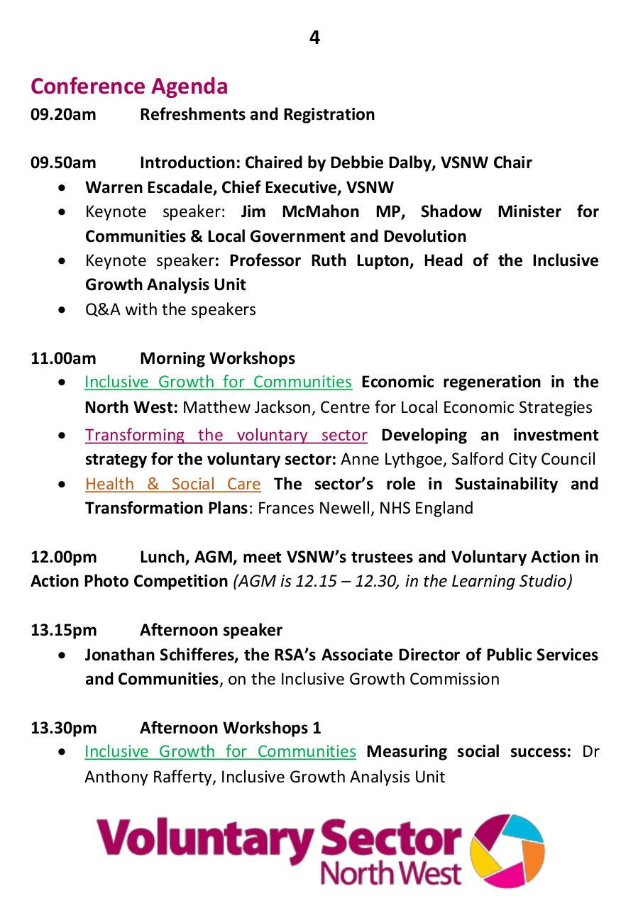 VSNW16 Community Powered Change Delegate Programme.pdf - page 4/16