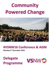 vsnw16 community powered change delegate programme