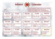 city year uk advent calendar