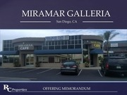 mirmar galleria offering memorandum