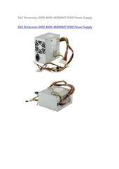 dell dimension 3000 4600i 4600mmt 8300 power supply