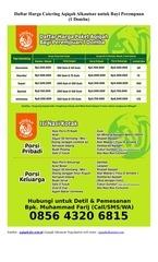 daftar harga catering aqiqah alkautsar untuk bayi perempuan