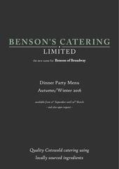 autumn winter dinner party menu 2016