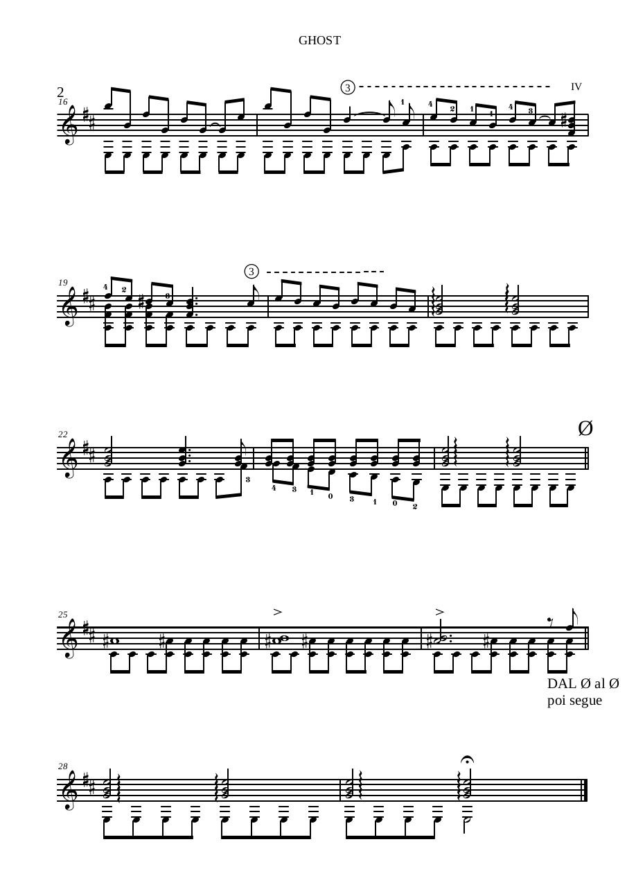 Preview of PDF document ghost-by-daniele-magli-guitar.pdf - Page 2/2