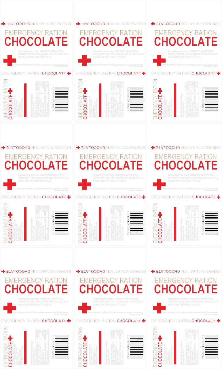 Document preview emergency chocolate.pdf - page 1/1