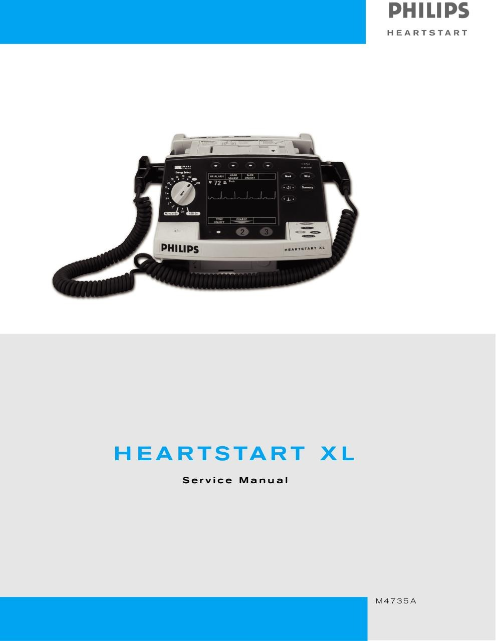 Philips HeartStart XL-Service Manual.pdf - page 1/304