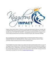 PDF Document kingdom impact ministry