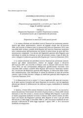 legge di stabilita 2017