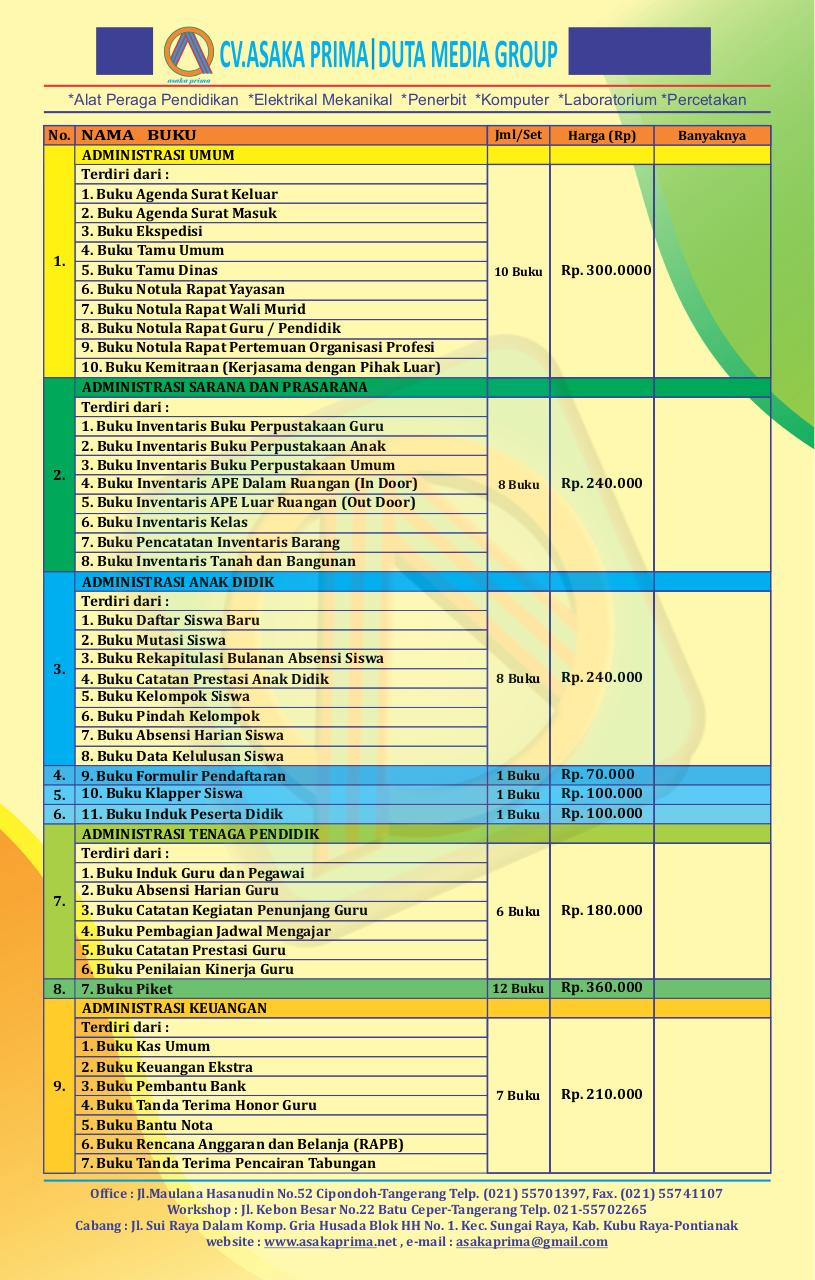 Document preview BUKU ADMINISTRASI PAUD TK KURIKULUM 2013.pdf - page 1/2