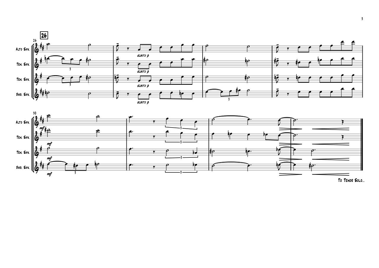 For My Lady - Full Score.pdf - page 3/3