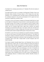 prof shalini madam superannuation write up 1