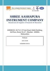 shree aashapura instrument company