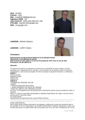 fraude john russell us army