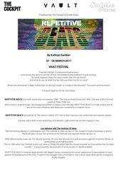 repetitive beats press release