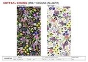 PDF Document print design portfolio crystal chung