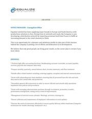 PDF Document job offer office manager equalize ltd