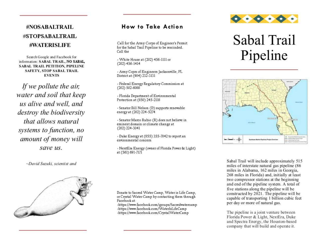 Document preview sabaltrailpipeline flyer.pdf - page 1/2