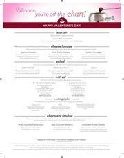 mp vday menu 2017