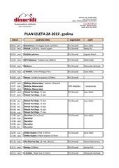 plan izleta 2017
