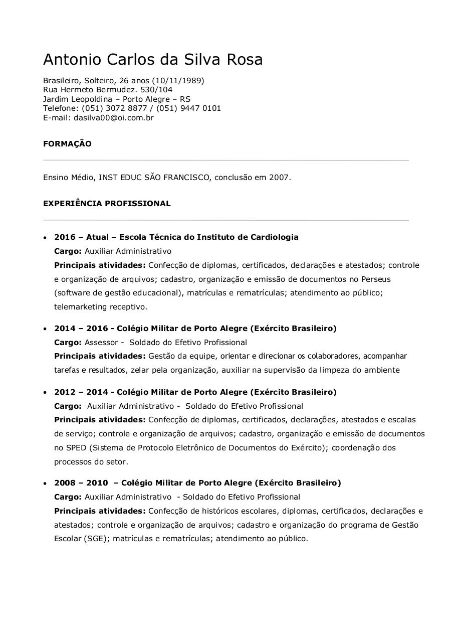 Document preview CURRICULO - ANTONIO.pdf - page 1/2