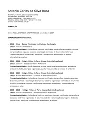 PDF Document curriculo antonio