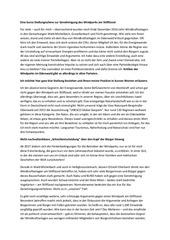 PDF Document eine kurze stellungnahme