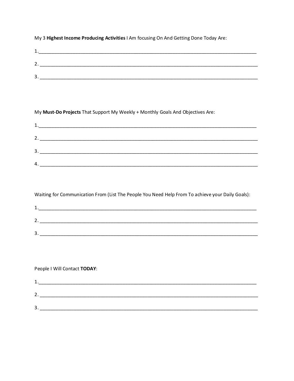 LiiT Time Management Workbook.pdf - page 3/4