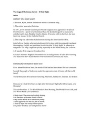 theology of christmas carols part 3 o holy night
