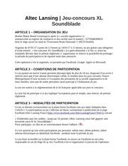 jeu concours xl soundblade 2