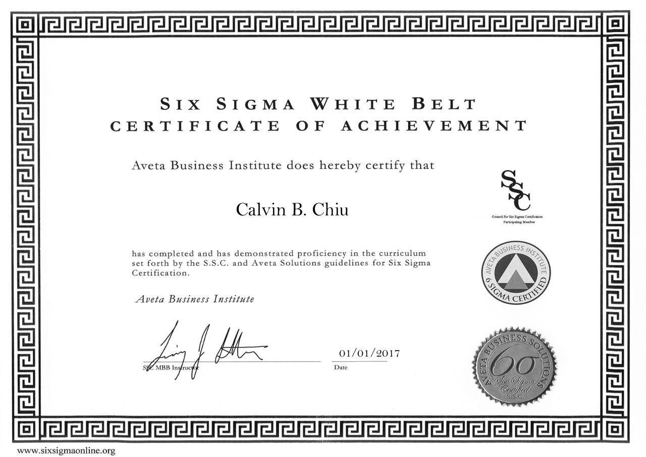 Document preview White Belt Certification.pdf - page 1/1
