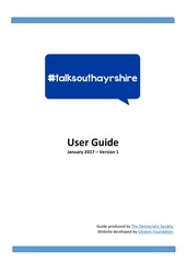 user guide south ayrshire your priorities