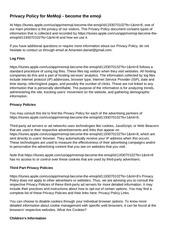 PDF Document privacy policy memoji