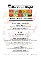 PDF Document mouth watering mexican night