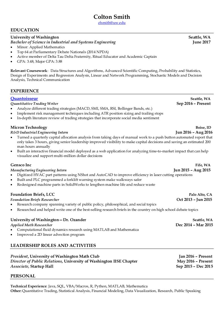 engineering resume review