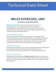 tds miles evercool unv