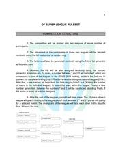 PDF Document rules