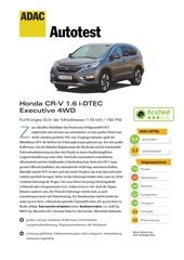 honda cr v 1 6 i dtec executive 4wd