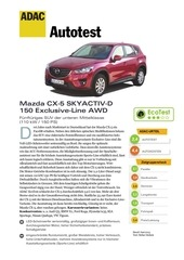 mazda cx 5 skyactiv d 150 exclusive line awd