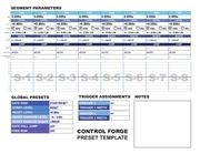 PDF Document cf preset template form