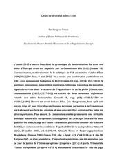 PDF Document un an de droit des aides d etat