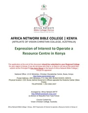 expression of interest for resource centre kenya final