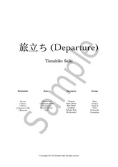 PDF Document departure full score