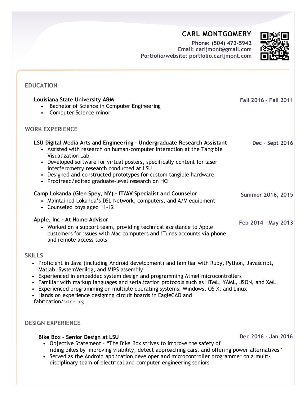 Document preview Resume Final.pdf - page 1/1